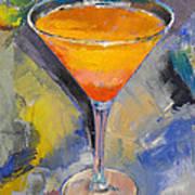 Mango Martini Poster