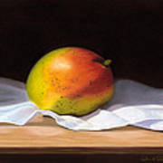 Mango Pastel Poster by Paul Riccardi