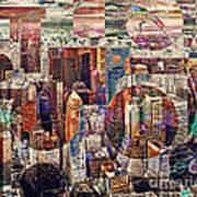 Manhattan Sunrise Poster