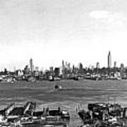 Manhattan From New Jersey Poster