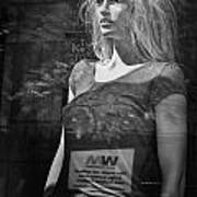 Mannequin In A Window Display Poster