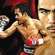 Manny Pacquiao Artwork 2 Poster