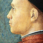 Mantegna's Portrait Of A Man Poster