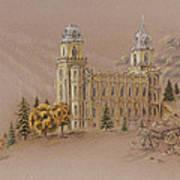Manti Utah Lds Temple Poster