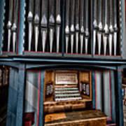 Manual Pipe Organ Poster