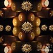 Many Lit Candles Poster