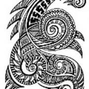 Maori Art Art Print By Art N Soul