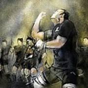 Maori Haka Poster by Miki De Goodaboom