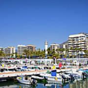 Marbella Marina In Spain Poster