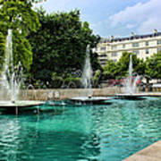 Marble Arch Fountains  Poster