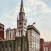 Marble Collegiate Church Holland House New York Poster