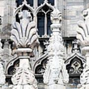 Marble Facade II Duomo Di Milano Italia Poster