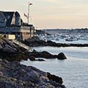 Marblehead Harbor Chandler Hovey Park Poster