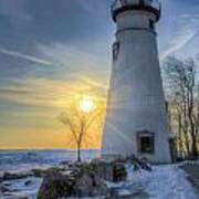 Marblehead Lighthouse Sunrise Poster