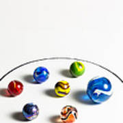 Marbles Circle 3 Poster