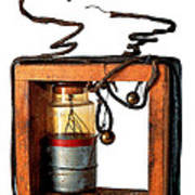 Marconis First Transmitter 1897 Poster
