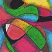 Mardi Gras Poster by Ellen Howell