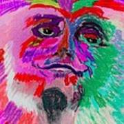 Mardi Gras Face Poster