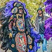 Mardi Gras Indian Poster