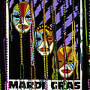 Mardi Gras Poster New Orleans Poster