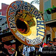 Mardi Gras Preservation Hall Photo Artistic Poster