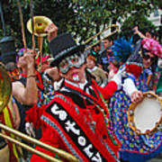 Mardi Gras Storyville Marching Group Poster