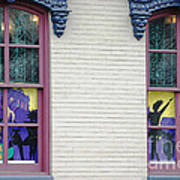 Mardi Gras Windows Poster