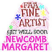 Margaret Get Well Soon Poster