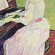 Marguerite Gachet At The Piano Poster