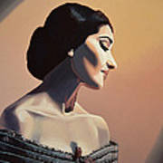 Maria Callas Painting Poster
