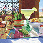 Mariachi Margarita Poster