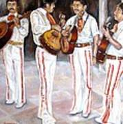 Mariachi  Musicians Poster