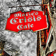 Marie's Crisis Cafe Poster