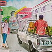 Marigot St. Martin Poster