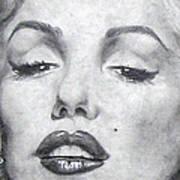 Marilyn Closeup Poster