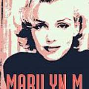 Marilyn M Poster