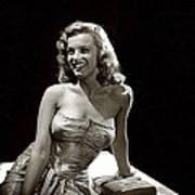 Marilyn Monroe Photo By J.r. Eyerman 1947-2014 Poster