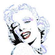 Marilyn Monroe 20130331 Square Poster