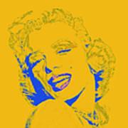 Marilyn Monroe 20130331v2 Square Poster