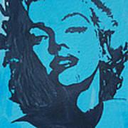 Marilyn Monroe Loves Batman Poster