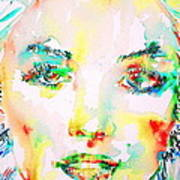 Marilyn Monroe Portrait.5 Poster