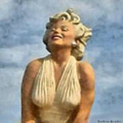 Marilyn Monroe Watercolor Poster
