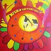 Marimbona Poster by Jose jackson Guadamuz guadamuz
