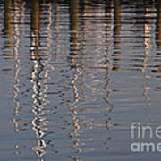 Marina Reflection 3 Poster
