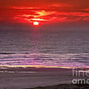 Marine Sunset Poster