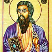 Mark The Evangelist Icon Poster