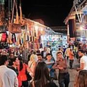 Market Life At Night 2 Poster
