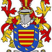Marlay Coat Of Arms Irish Poster