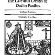 Marlowes Doctor Faustus Poster