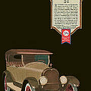 Marmon 34  - Vintage Poster Poster